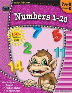 Numbers 1 - 20: Pre-k Through K (Paperback)