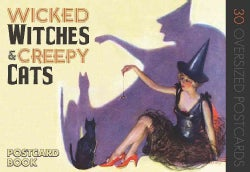 Wicked Witches & Creepy Cats (Postcard book or pack)