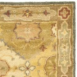 Handmade Antiquities Bakhtieri Multi/ Beige Wool Rug (2'3 x 10')