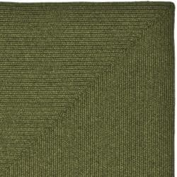 Hand-woven Country Living Reversible Green Braided Rug (9' x 12')