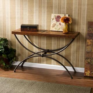State Espresso Sofa Table