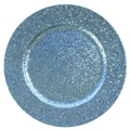Charge It! by Jay Blue Glitter 13-inch Chargers (Set of 4)