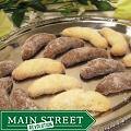 Oma Gisi's Vanilla and Chocolate Almond Crescents (Box of 32)