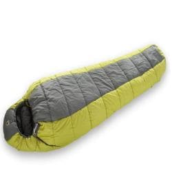 Mountainsmith Poncha +35-degree Citron Green Mummy Sleeping Bag