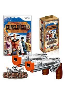 Wii - Gunslingers Bundle with 2 guns