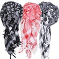 Cotton Skeleton Arafat Scarf (India)