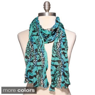 Cotton Animal Print Stole (India)