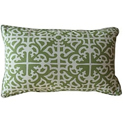 Outdoor Malibu Green Decorative Pillow