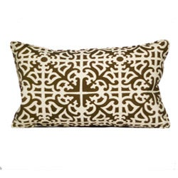 Outdoor Malibu Brown Decorative Pillow