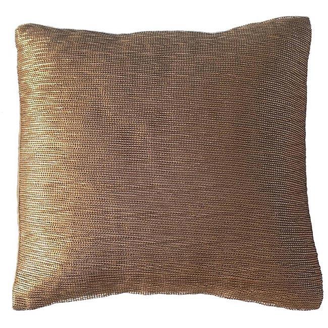 Bronze Bombay Jewel Decorative Pillow