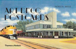 Art Deco Postcards (Hardcover)