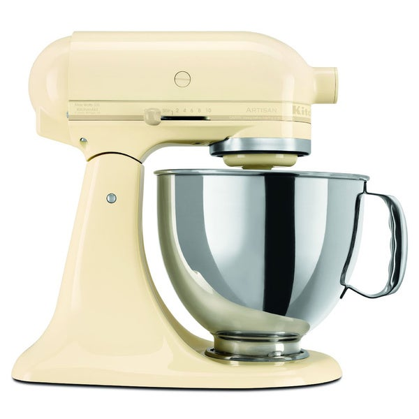 KitchenAid RRK150AC Almond Cream 5-quart Artisan Tilt-Head Stand Mixer (Refurbished)