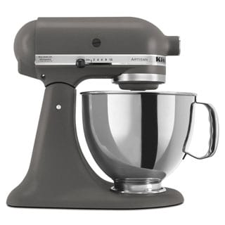 KitchenAid RRK150GR Grey 5-quart Artisan Tilt-Head Stand Mixer (Refurbished)