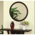 Audrey Coffee Bean Round Mirror