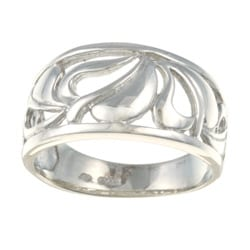 Sterling Essentials Platifina Sterling Silver Sonoma Ring