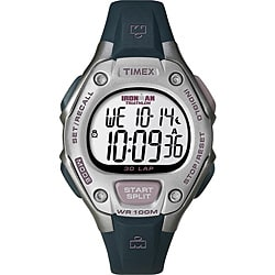 Timex Women's T5K411 Ironman Traditional 30-Lap Light Grey Watch