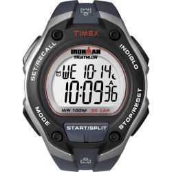 Timex Men's T5K416 Ironman Traditional 30-Lap Mega Blue Watch
