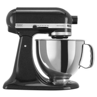 KitchenAid RRK150CV Caviar 5-quart Artisan Tilt-Head Stand Mixer (Refurbished)