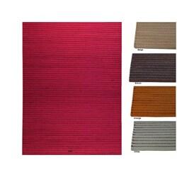 Hand-woven Marg Wool Rug (4'6 x 6'6)
