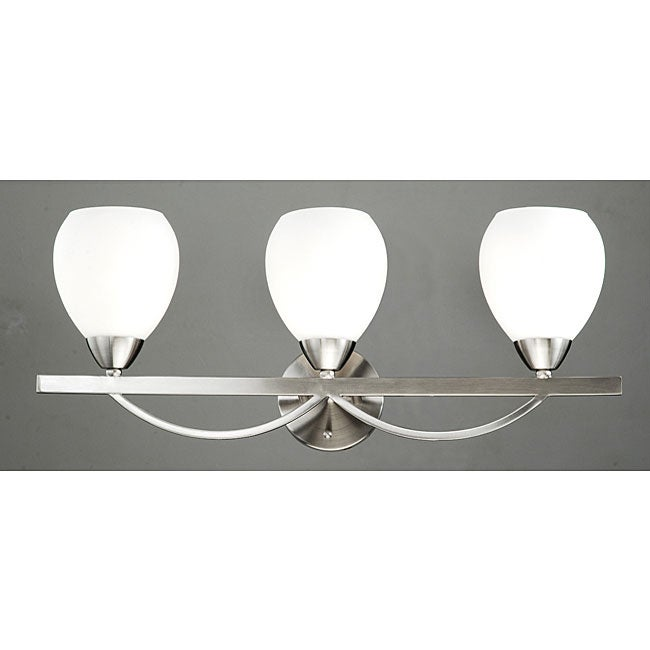 Vicosa Satin Nickel 3-light Wall Sconce
