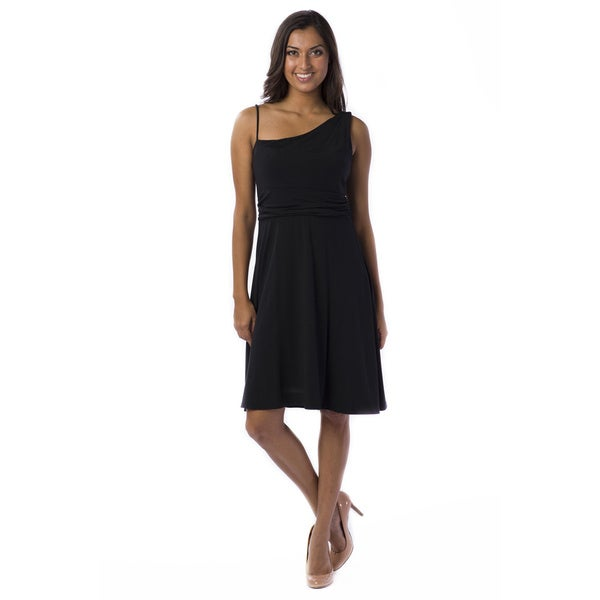 AtoZ Women's Modal Asymetrical Dress