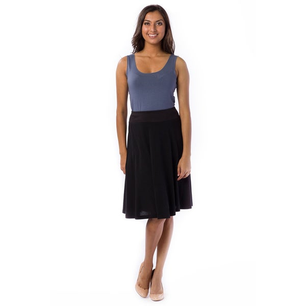 Model Faux Suede ALine Skirt