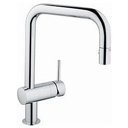Minta Chrome Pull Down Kitchen Faucet
