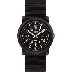 Timex Men's T18581 Camper Black Watch