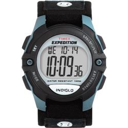 Timex Men's T41091 Expedition Digital Fast Wrap Velcro Strap Watch