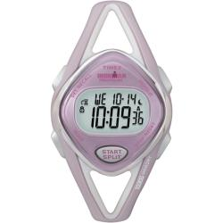 Timex Women's T5K027 Ironman Sleek 50-Lap Pink/Silvertone Watch