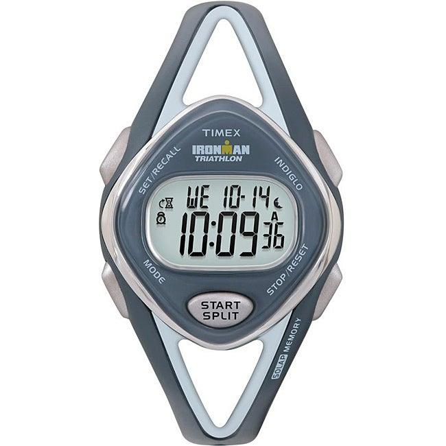 Timex Women's T5K038 Ironman Sleek 50-Lap Navy Watch