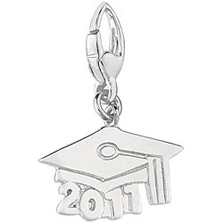 Sterling Silver Graduation Cap 2011