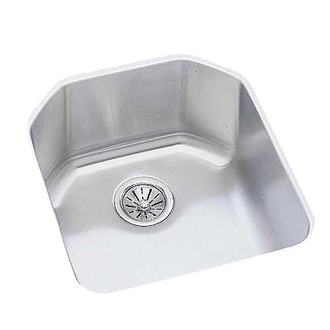 Elkay Stainless Steel Satin Undermount Single-Basin Kitchen Sink
