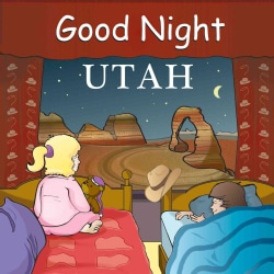 Good Night Utah (Board book)