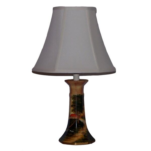 Country Farm Porcelain Table Lamp