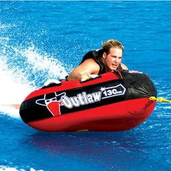 Sportsstuff Outlaw One-rider Red/Black PVC/Nylon Towable Water Tube