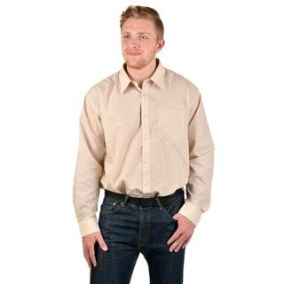Boston Traveler Men's Basic Button-Front Dress Shirt