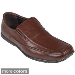 Boston Traveler Men's Slip-on Square-toe Loafers