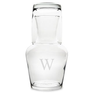 Personalized 2 Piece Bedside Water Carafe Set