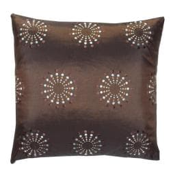 Brown Mayan Decorative Pillow
