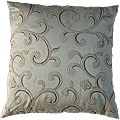 Cream Bombay Stiletto Decorative Pillow