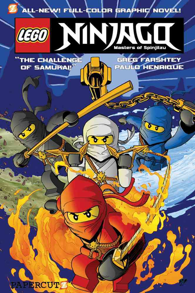 Ninjago Masters of Spinjitzu 1: The Challenge of Samukai! (Hardcover)
