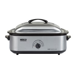 Roaster stainless steel Perpnon-stick 18 QT Slowcooker