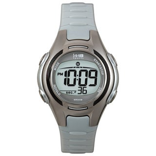 Timex Women's T5K085 1440 Sports Digital Black/Grey Watch