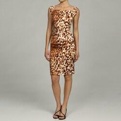 Issue New York Women's Rouched Sleeveless Sheath Dress