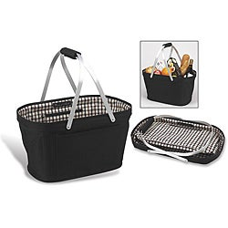 Picnic at Ascot London Collapsible Aluminum Frame Market Basket