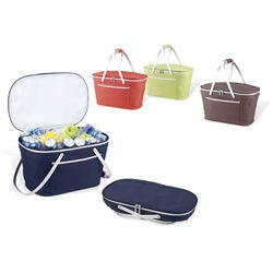Picnic at Ascot Bold Collapsible Basket Cooler