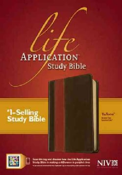 Life Application Study Bible: New International Version, Brown/Tan, Tutone Leatherlike (Paperback)
