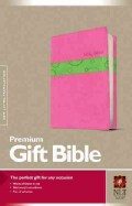 Holy Bible: New Living Translation, Bubble Gum/Pistachio, Tutone Leatherlike, Premium Gift Bible (Paperback)