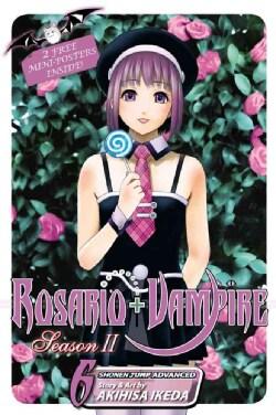 Rosario + Vampire 6: Season 2 (Paperback)